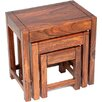 Ethnic Elements Cadiz 3 Piece Nest of Tables