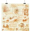 Big Box Art 'Oreach' by Leonardo Da Vinci Graphic Art