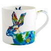 Fairmont and Main Ltd Julie Steel Designs Neon Hare Coffee Mug
