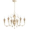 One Allium Way Paladino 6-Light Candle-Style Chandelier