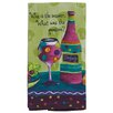 Zipcode Design Wine Is the Answer What was the Question Kitchen Terry Towel (Set of 6)