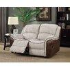 Hazelwood Home Fareham Fusion 2 Seater Reclining Sofa