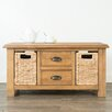 Hazelwood Home Glenmuir Coffee Table with Storage