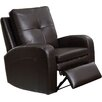 Hyde Line Furniture Sarah Leather Layflat Recliner Chair