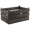 Castleton Home Rustic Wooden Crate