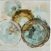 Vintage Boulevard Mini Bubbles I Framed Wall Art on Canvas