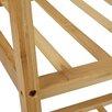 Relaxdays Bamboo Coat Rack