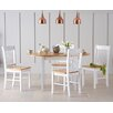 Home Etc Alaska Extendable Dining Table with 4 Chairs