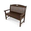 Innova Hearth And Home Charleston Cast Aluminum Park Bench