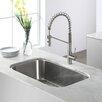 """Kraus Stainless Steel 32.25"""" x 18.5""""  Undermount Kitchen Sink"""
