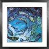 Spires Art Shoal by Spires Studio Framed Art Print