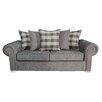 Hazelwood Home Scarpa Pillow Back 3 Seater Sofa