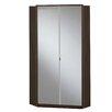 Wimex Gamma Gloss 1 Door Corner Mirrored Wardrobe