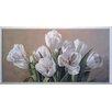 ERGO-PAUL White Tulips Painting Print