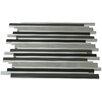 Splashback Tile SAMPLE - Urban Metal Mosaic Tile in Brushed Polished Black/Gray