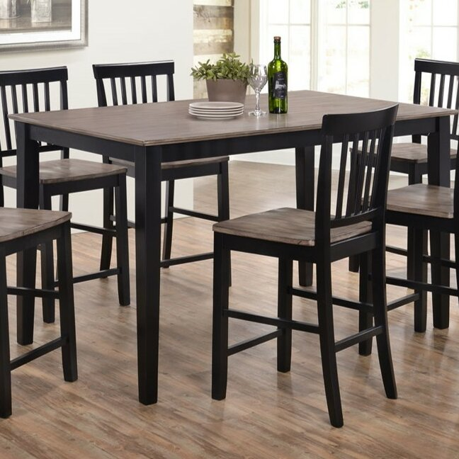 union rustic stafford counter height dining tablesimmons