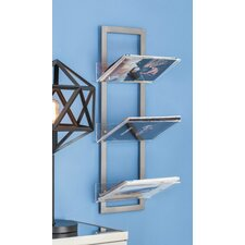 Metal/Acrylic Floating Shelf by Cole & Grey