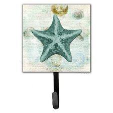 Starfish Leash Holder and Wall Hook by Caroline's Treasures