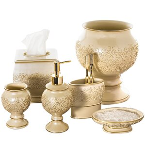 Gold Bathroom Accessories Youll Love Wayfair