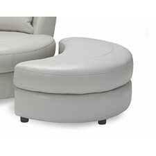 Cuddler Leather Ottoman by Sofas to Go