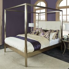 Chiara Upholstered Canopy Bed by Willa Arlo Interiors
