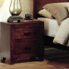 Di 2 Drawer Nightstand by Bloomsbury Market