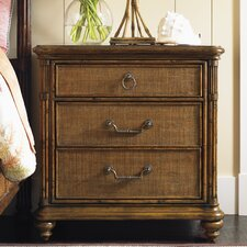 Bali Hai 3 Drawer Nightstand by Tommy Bahama Home