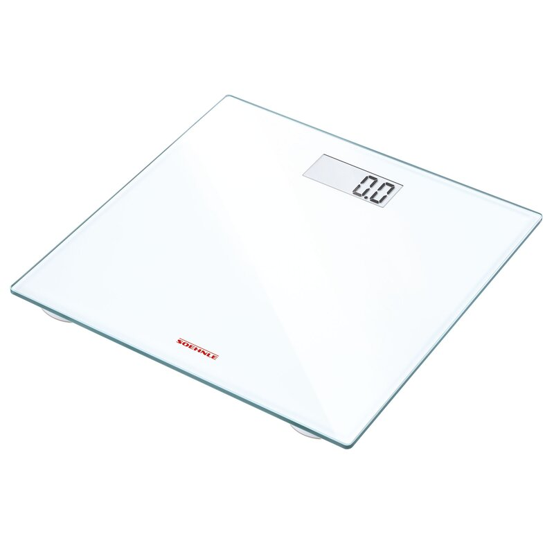 soehnle pino precision digital bathroom scale & reviews | wayfair