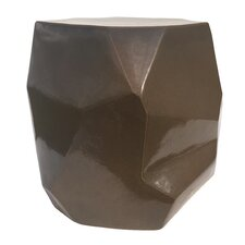 Perpetual Geo Accent Stool by Seasonal Living