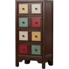 Stonington 4 Drawer Cabinet by Bungalow Rose
