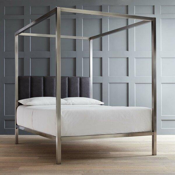 Wade Logan Esmont Canopy Bed Amp Reviews Wayfair
