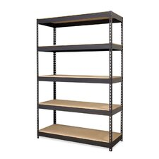 72 H 5 Shelf Shelving Unit by CommClad