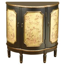Half Round 3 Door Accent Cabinet by AA Importing