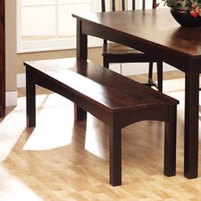 Tahoe Wooden Dining Bench by William Sheppee