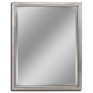 Classic Metal Framed Bathroom/Vanity Wall Mirror