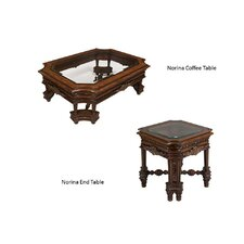 Norina 2 Piece Coffee Table Set by Benetti's Italia