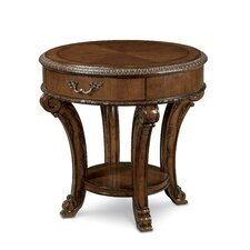 Brussels End Table by Astoria Grand