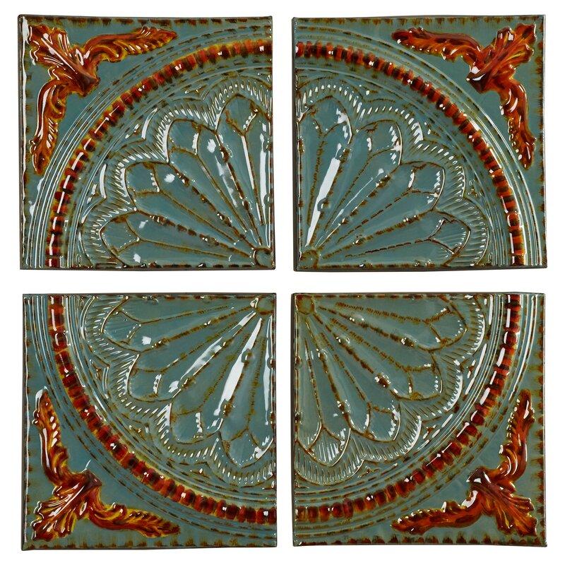 Wayfair Wall Decor bungalow rose sea foam metal medallion wall décor reviews wayfair