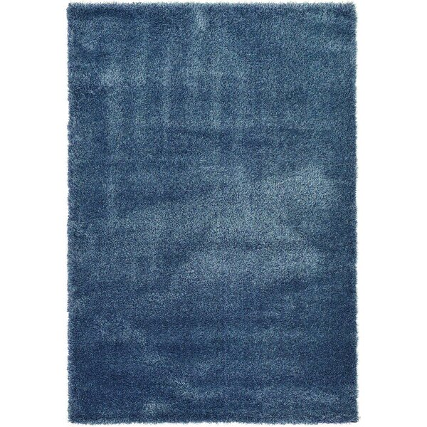 Varick Gallery Boice Navy Blue Area Rug U0026 Reviews | Wayfair