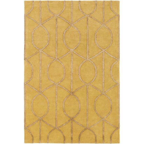 Artistic Weavers Urban Marie Hand Tufted Gold Area Rug U0026 Reviews | Wayfair