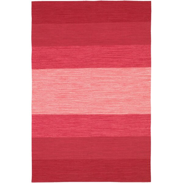 Chandra India Hand Woven Red Area Rug U0026 Reviews | Wayfair