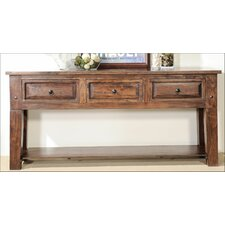 Castle Console Table by Aishni Home Furnishings