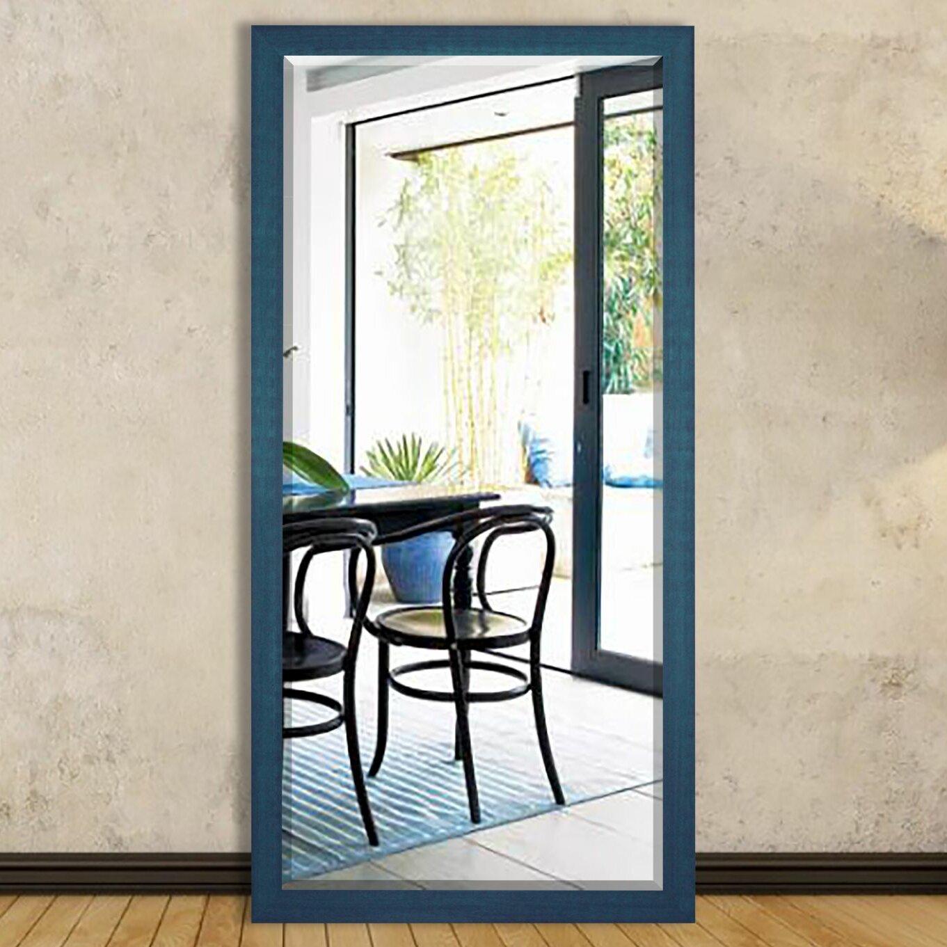 brayden studio full length cottage wood framed vanity mirror. Black Bedroom Furniture Sets. Home Design Ideas