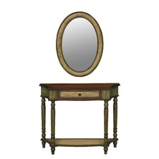 Veneto Console Table and Mirror Set by Stein World