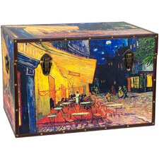 Van Gogh's Cafe Terrace Trunk by Oriental Furniture