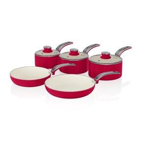 Retro 5-Piece Non-Stick Cookware Set
