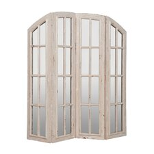 Morrison 72 x 66 Morrison 4 Panel Room Divider by Rosecliff Heights