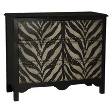 Bowgen Accent 3 Drawer Chest by World Menagerie