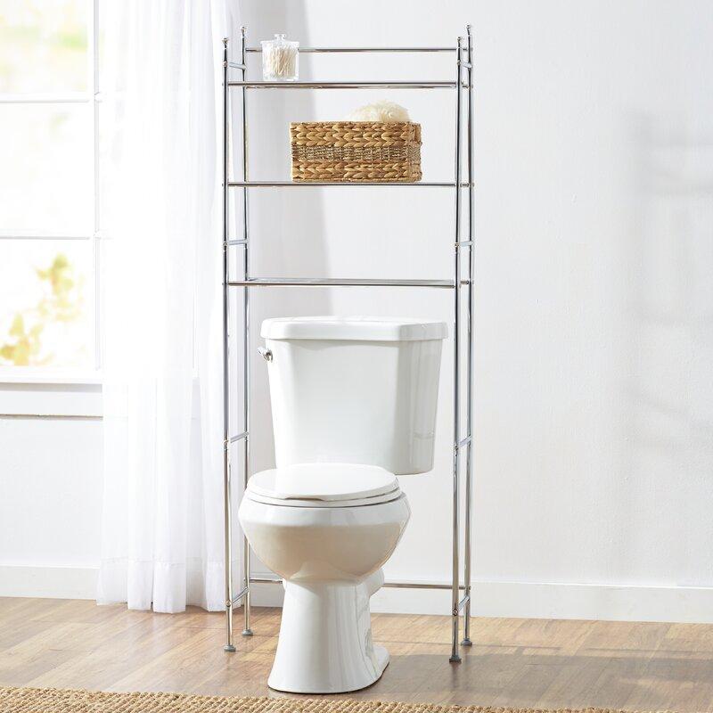 Wayfair Basics 22 83  W x 59 84  H Over the Toilet Storage. Over the Toilet Storage Cabinets   Wayfair