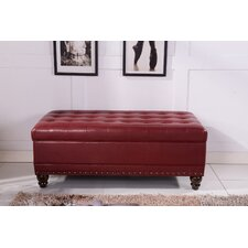 Classic Upholstered Storage Bedroom Bench by Bellasario Collection